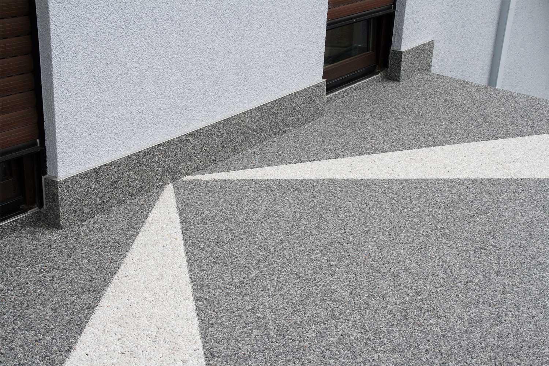 Steinteppichböden